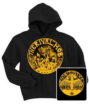 "Rival Mob ""LP cover"" Hoodie"
