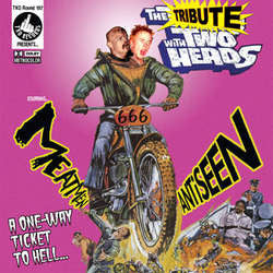 "Antiseen / The Meatmen ""Split"" 7"""