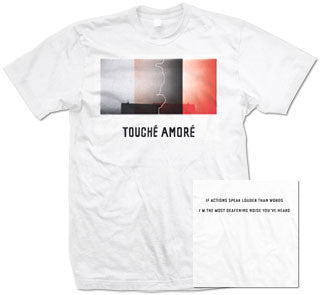 "Touche Amore ""Actions Speak Louder"" T Shirt"