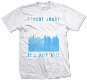 "Touche Amore ""Is Survived By"" T Shirt"