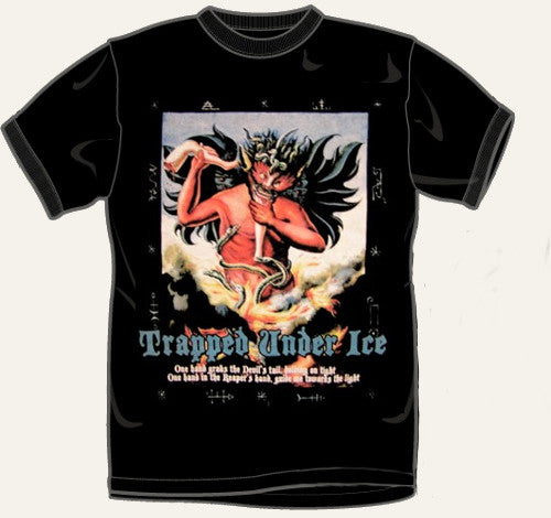 "Trapped Under Ice ""Devil Black"" T Shirt"