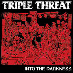"Triple Threat ""Into The Darkness"" CD"