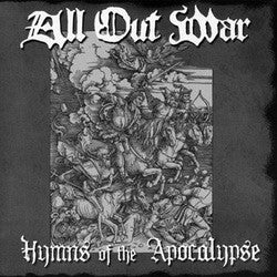 "All Out War ""Hymns Of The Apocalypse"" 7"""