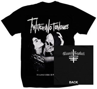 "Twitching Tongues ""In Love There Is No Law"" T Shirt"