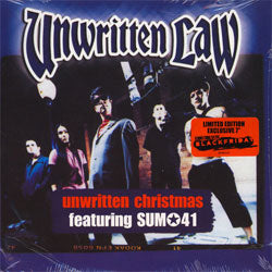 "Unwritten Law ""Unwritten Christmas (feat. Sum 41)"" 7"""