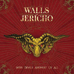 "Walls Of Jericho ""With Devils Amongst Us"" CD"