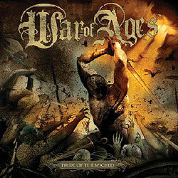 "War Of Ages ""Pride Of The Wicked"" CD"