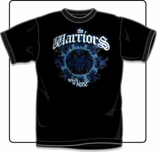 The Warriors Beyond The Noise Blue T Shirt Large