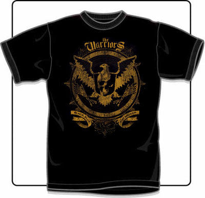 The Warriors Black, Broken And Blue T Shirt