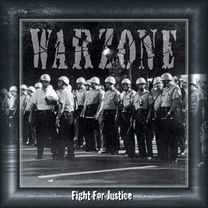 "Warzone ""Fight For Justice"" CD"