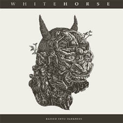 "Whitehorse ""Raised Into Darkness"" LP"