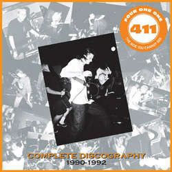 "411 ""The Side You Cannot See: Discography"" LP"