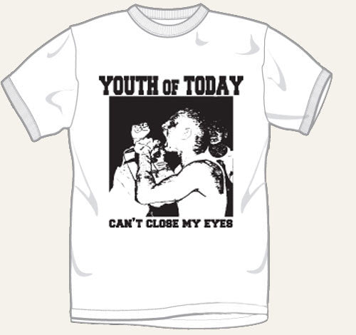 Youth Of Today Can't Close My Eyes T Shirt