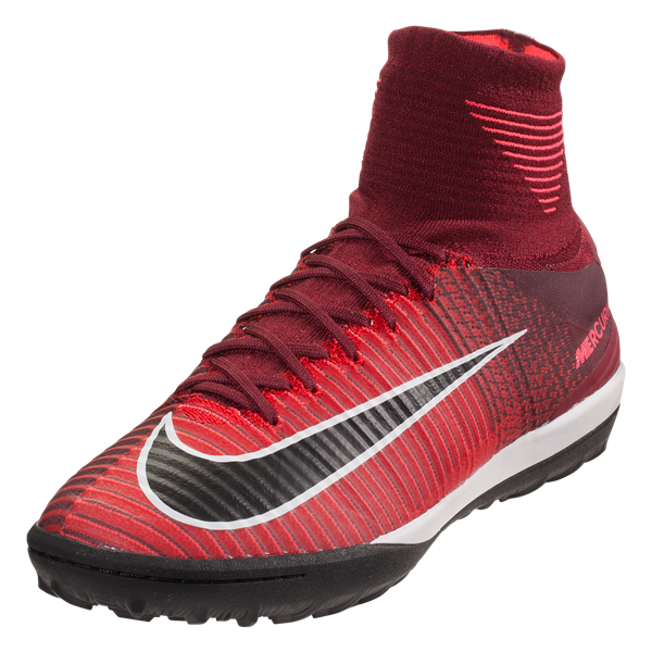 check out 6ed43 16a77 Nike Mercurial X Proximo II TF, Rojo y Negro