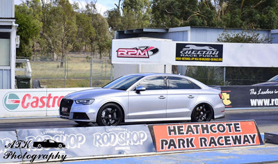 Almost 10s Pass - Heathcote Raceway Update