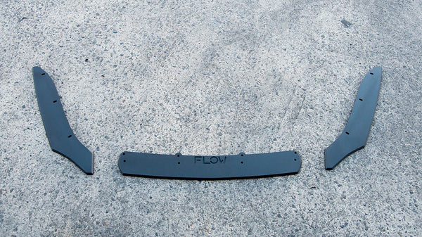 VW MK7 Golf R Wagon Rear Valance Set (3 Piece) - V-Tech Australia | VW & Audi Performance Parts