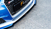 Flow Designs AUDI RS3 8V PFL HATCH FRONT SPLITTER V2 - V-Tech Australia | VW & Audi Performance Parts