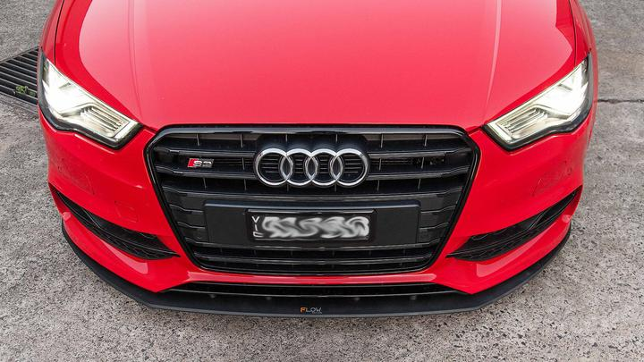 Flow Designs AUDI S3 8V PFL SEDAN FRONT SPLITTER - V-Tech Australia | VW & Audi Performance Parts