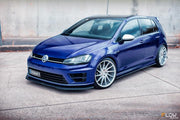 Flow Designs VW MK7 GOLF R SIDE SPLITTERS V3 (PAIR) - V-Tech Australia | VW & Audi Performance Parts