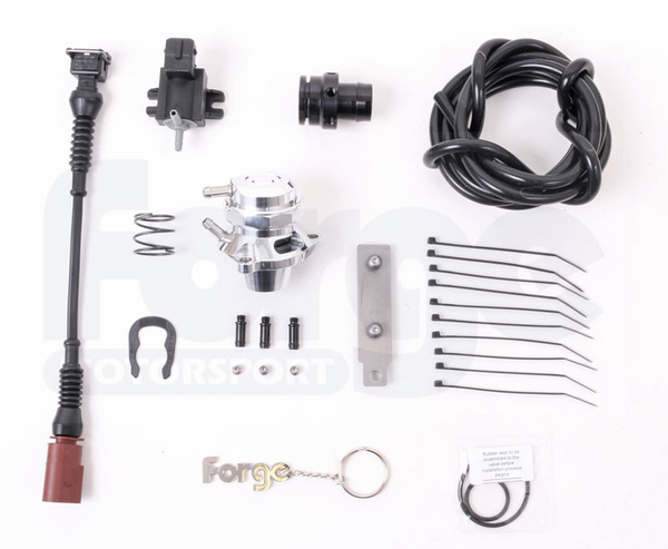 Forge Motorsport Blow Off Valve and Kit for Audi, VW, SEAT, and Skoda