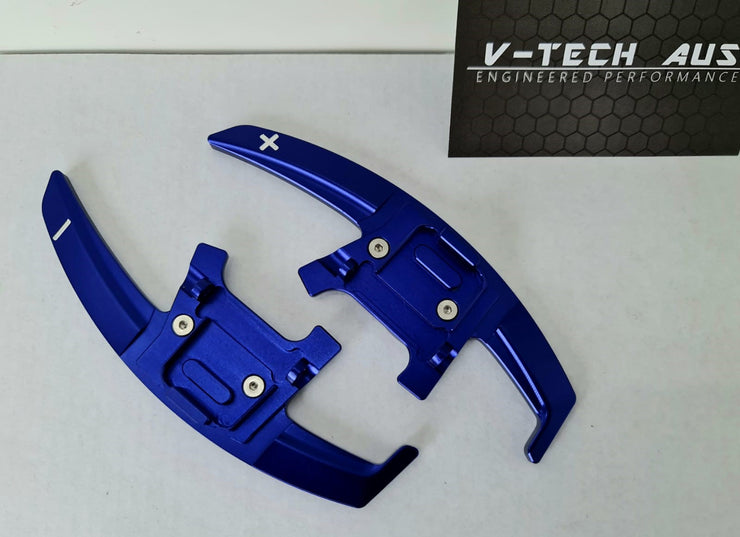 VTech Steering Wheel Paddle Shifter Extension For VW Golf 7/7.5 - Blue
