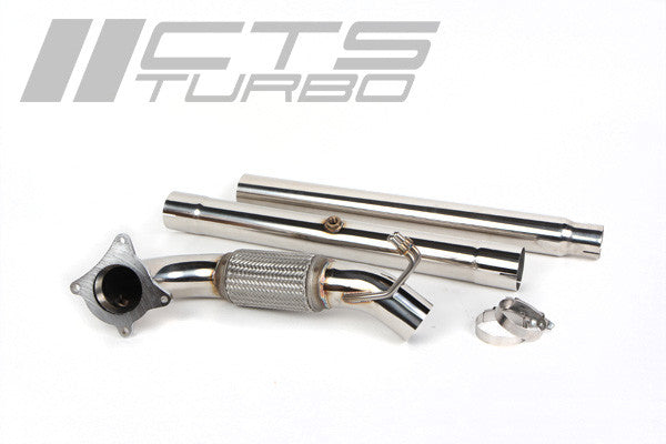 CTS Turbos MK5/MK6 GTI Downpipe including catalytic converter - V-Tech Australia | VW & Audi Performance Parts