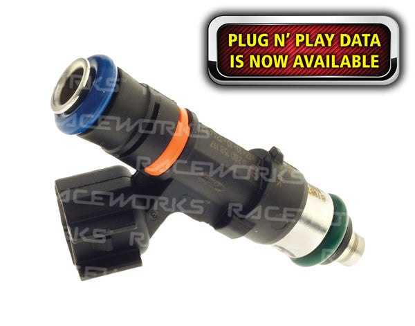 RACEWORKS INJECTOR EV14 725cc 3/4 LENGTH INJ-153 - V-Tech Australia | VW & Audi Performance Parts