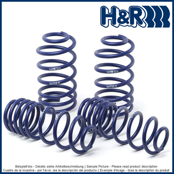 H&R lowering springs for 29013-2 VW Scirocco III incl. R - V-Tech Australia | VW & Audi Performance Parts
