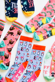 Socks - Joy To The World (Mint)- Pack of 5