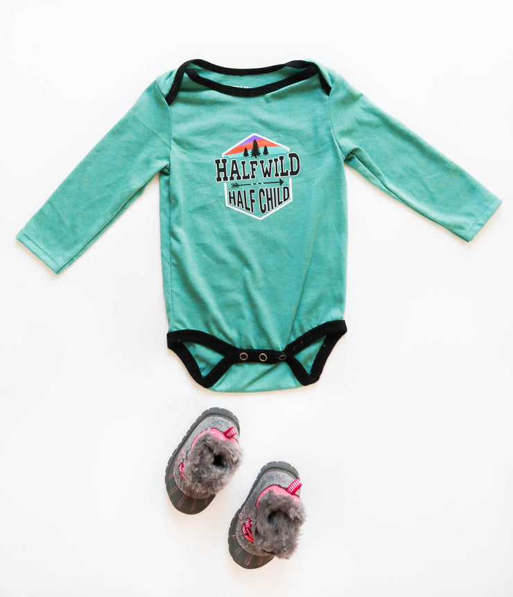 Half Wild Half Child (Jade Heather) - Onesie Pre Pack