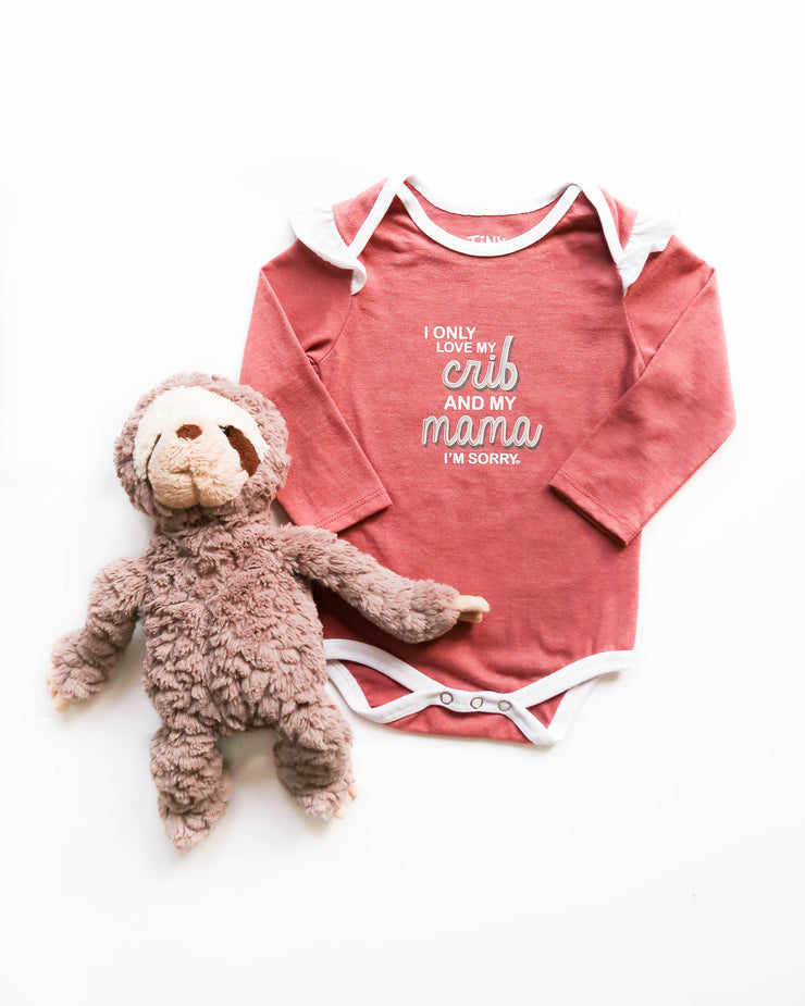 Love My Crib (Mauve Heather) - Onesie Pre Pack
