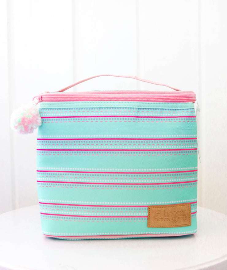 Lunch Box (Mint Stripe) - Boss Babe - Packs of 4