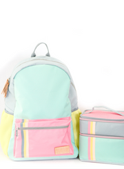Backpack - Color Block (Mint) - Packs of 4