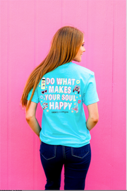 K&C - Do What Makes Your Soul Happy (Pool) - Short Sleeve/Crew