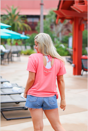 JLB SS Tieback - Can't Adult Today (Coral) - Short Sleeve