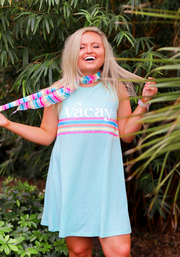 Tank Dress - Vacay (Mint Funfetti) - Crew