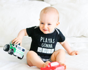 Tiny Tinies - Playas Gonna Play (Midnight Stars) - Onesie Pre Pack