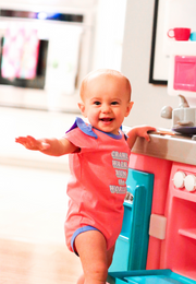 Tiny Tinies - Run The World (Pink Heather) - Onesie Pre Pack