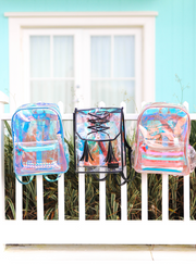 Backpack (Black/Clear) - Packs of 4
