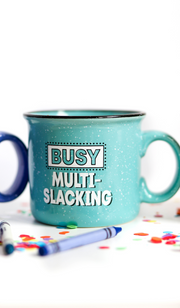 Fleck Mug (Jade) -  Multi Slacking - Packs of 5