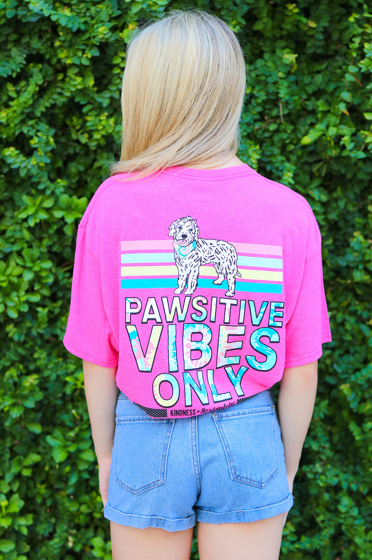 Pawsitive Vibes Only - Heliconia Heather
