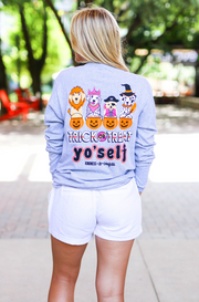 Trick Or Treat Yourself (Athletic Heather) - Long Sleeve / Crew