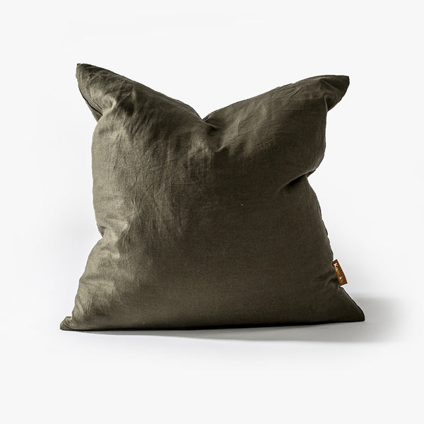Jade Linen Cushion