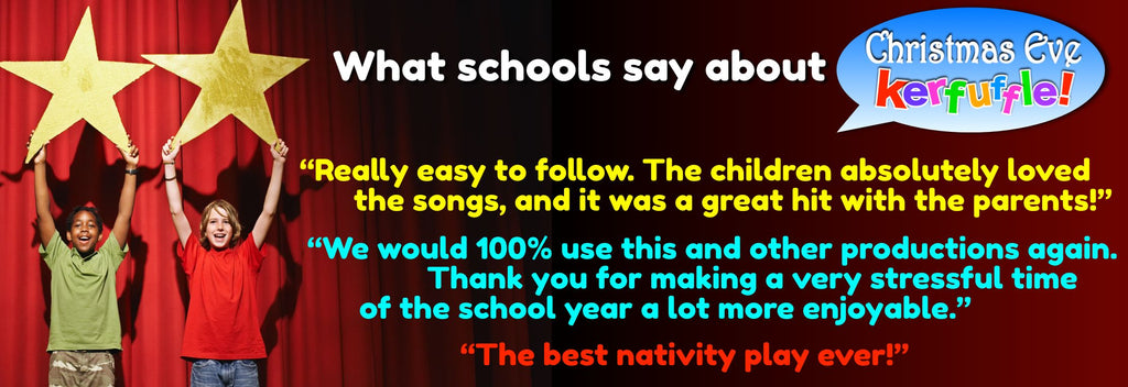 easy primary school christmas nativity play for ks1 and 2 children