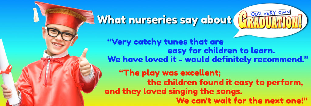easy nursery school summer leavers show play