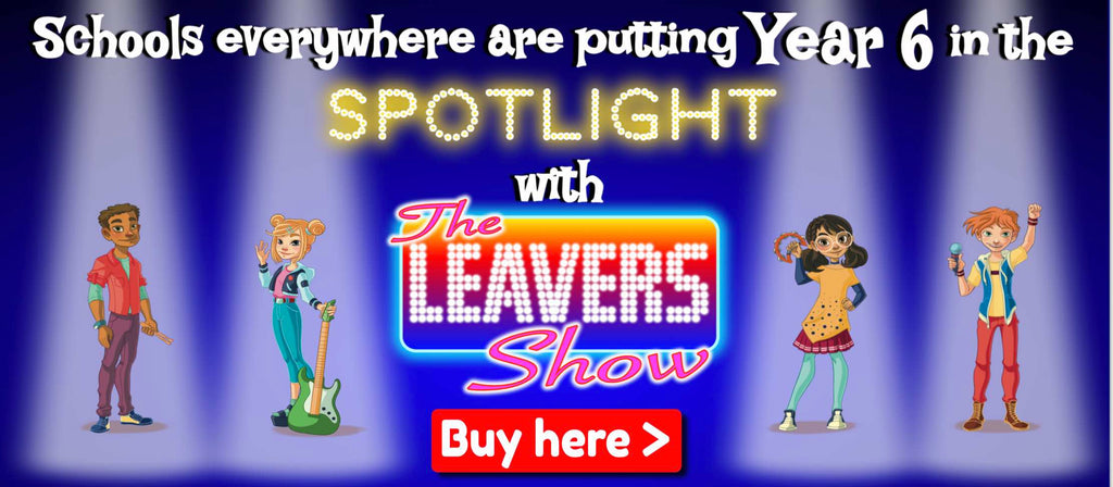 The Leavers Show school play for year 6 primary summer shows