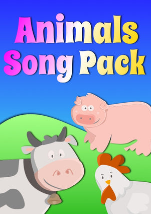 Animals song pack