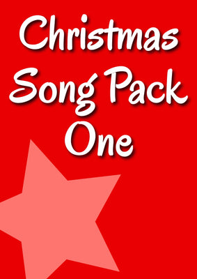 CHRISTMAS SONG PACK 1 (Ages 3+)