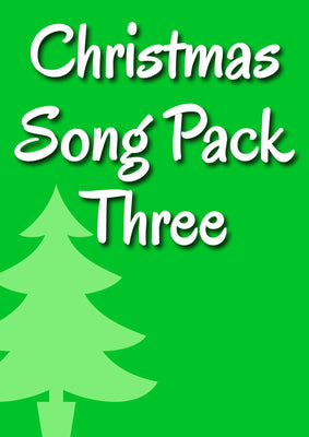 CHRISTMAS SONG PACK 3