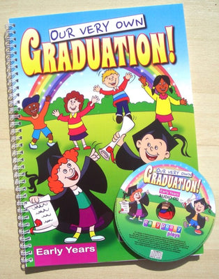 our very own graduation book and cd